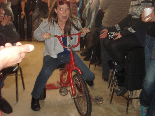 Thaw di gras - trike race Erin M3