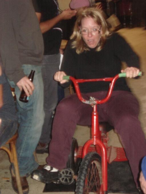 Thaw di gras - Trike race ErinK